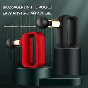 Massage Gun Professional Electric Mini Fascial Deep Tissue Pocket 32 Gears Sport Machine Relax Body Slimming Massager
