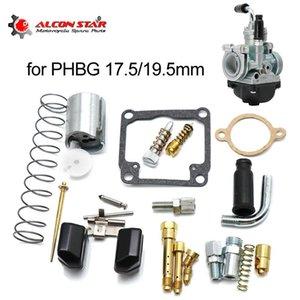 Sistema de combustível de motocicleta Alconstar- carburador para Dellato PHBG AD 17.5mm 19.5mm Kit de reparação definido jatos de peças de gaxeta