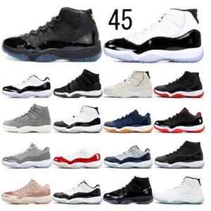 47 € 47 11 11s Темные мокко белый UNC Jumpman Баскетбольные туфли 4 4S Compen Paris Мужские кроссовки 11 11s 25-й годовщины женские тренеры