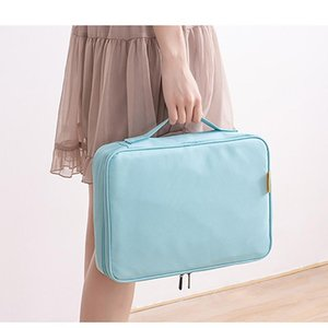 Certificate Collection Home Ownership Large Capacity Multi Function Passport Ticket File Account Storage Bag 34*33*6cm