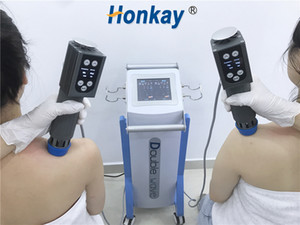 Low intensity Double Handles Shock Wave Therapy Equipments Pain Management and penis enlargement shockwave therapy machine for ed