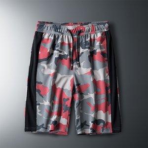 2021 Été Camouflage Silk Mesh Casual Ice Sentier Shorts Hommes Sports de plein air Climatisation Pantalon