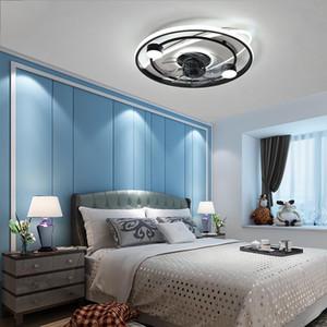 Modern intelligente Deckenventilator-Fans mit Lichter Fernbedienung Indoor Decor Ventilator Lampe Beleuchtung für Villen Dinning Room Wohnzimmer Schlafzimmer