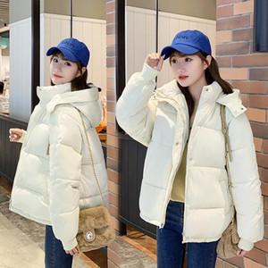 Hayblst marque Femme Femme Puffer Veste 2021 Manteaux et vestes Femmes Nouvelle automne Vêtements d'hiver Kawaii Vêtements à manches longues coréennes