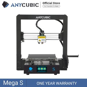 ANYCUBIC Mega-S Mega S 3D Printer DIY Printing Touch Screen Rigid Metal Frame Mean Well Power Supply Upgrade Version of I3