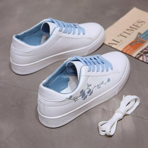 Sneakers Women Shoes Spring Autumn Fashion Female Student Lace-Up Flats Woman Campus Style Ladies Casual Shoes AA-515