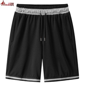 Men`s Casual Beach Shorts for Gym joggering 7XL 8XL knitting short men Elastic waist basketball workout running shorts clothing