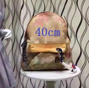 Fashion graffiti splicing sports outdoor backpack large capacity camouflage schoolbag special for travelling locomotive