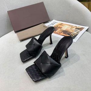 2021 летняя мода женщина сандалии высокие каблуки вязание кожаные сандалии цветные настраиваемые нескользящие женские туфли KL0001