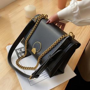 Niş Tasarım Kare Koltukaltı Çift Kullanım Yeni Moda Stil Omuz Patlama Messenger Çanta Genişliği: 24 cm C0225
