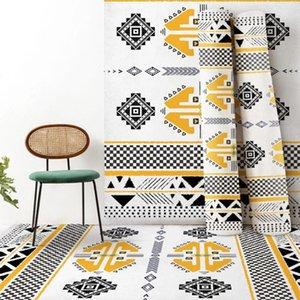 Carpets Soft Minimalist Coffee Table Blanket Rectangular Mat Bedroom Rug Anti-slip Carpet For Living Room Decor Tapete Para Sala