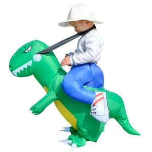 Halloween children's three-dimensional dinosaur Style Inflatable Clothing(Without Battery) High Quality Novel Festival Atmosphere Cosplay