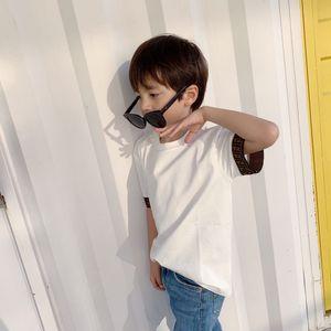 Have Stock Cotton BabyT shirt 2021 Summer Kids Gilrs Boys short sleeve Clothing children tshirt Fashion Tee tops