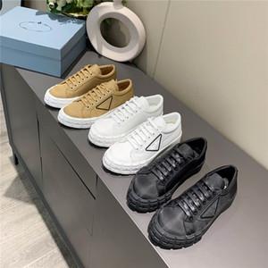2021 Yeni Tekerlek Cassetta Rahat Ayakkabılar Kadın Tasarımcı Sneakers Tuval Tekerlek Dikişi Gerdan Ayakkabı Stilist Ayakkabı Tüm-maç Trainers ile Kutusu