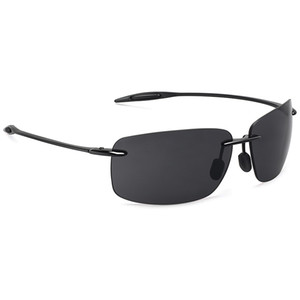 Juli Classic Sports Sunglasses Men Women Male Driving Golf Rectangle Rimless Ultralight Frame Sun Glasses Uv400 De Sol Mj8009