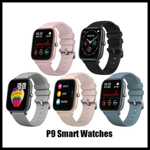 P9 smart watch Bluetooth Call Full Touch Call Reminder Message Push reloj inteligente Smart Bracelet Sport Weather Wristband For Android IOS