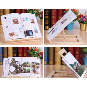 Adjustable Portable Wood Book Stand Holder Wooden Bookstands Laptop Tablet Study Cook Recipe Books Stands Desk Drawe jllvSN xmhyard