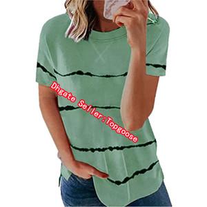 Womens summer T shirt designer printed womens T shirt short sleeve round neck shirt womens simple style clothing