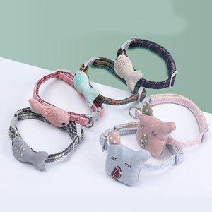 Dog Collars & Leashes 1PC Fashion Pet Supply Collar Neck Ring Strap Adjustable Small Fish Koala Decor Cute Cat Accessories