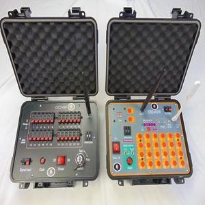 DB2400W 24 CUES Kablosuz Anahtarı Parti Malzemeleri Özel Efektler Yıl Kullanım Noel Hediyesi Elektrikli Tel Fireworks Ateşleme Sistemi Hızlı Teslim Set / Lot