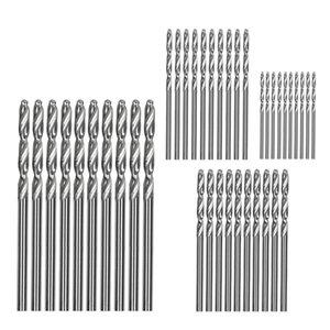 Professional Drill Bits 40 Pcs Mini Hss Bit 0.6Mm-2.0Mm Straight Shank Pcb Twist Set