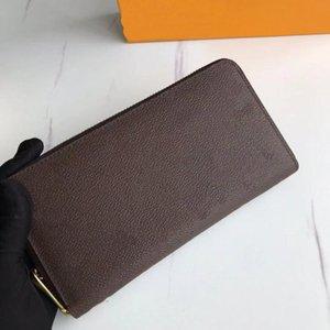 جودة عالية جديد الكلاسيكية محفظة المرأة مصممين أزياء مخلب المحافظ mongrames كليمنس طويل محفظة بطاقة حامل محفظة مع مربع حقيبة الغبار