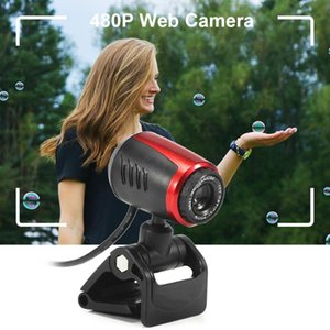 Webcams 640 X 480P Web Cam USB HD Webcam On Computer Pc Camera With Mic Clip-on Digital For Laptop In Stock Fast Delivery