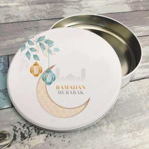 Eid Mubarak Ramadan Gift Islamic Decoration Biscuit Cake Sneak Tin Box for Guests or your Special Events