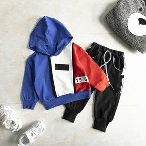 Tracksuit Toddler Spring Baby Clothing Sets Children Boys Girls Clothes Kids Cotton Hoodies Pants 2 Pcs sets