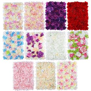 Nouveau 40x60cm de la soie artificielle rose de fleur de fleur de la décoration belle fête décorative Hydrangea décoration de mariage décoration de mariage