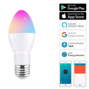 Bulbs 2021 5W Smart LED Bulb WIFI Dimmable Light Phone Remote Control Compatible With Alexa Google Home Voice