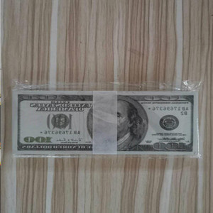 Hot Selling Billet Copy New Old 100 Banknotes Currency Tokens US Prop Best Gift Dollar Money Faux 08 Children Dakne