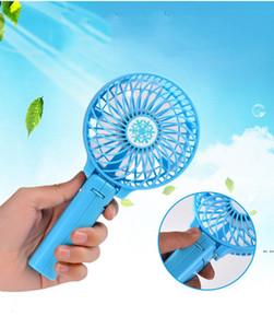 Rechargeable USB Mini Portable Foldable Electric Desk Hand Held Pocket Fan Makes You Have Cool Summer HWB5229