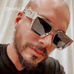 Fashion Luxury Brand Designer MILLIONAIRE Sunglasses Oversized Square Men Women Vintage Shield Cool Ins Sun Glasses For Female