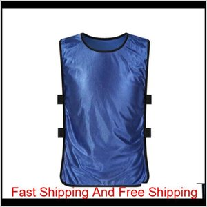 Team Training Scrimmage Vests Soccer Basketball Youth Adult Pinnies Jerseys New Sports Vest Breathable Te qylviH petsyard