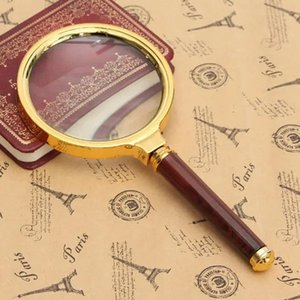 60mm 10X handheld magnifying lens zoom reading aid tool free shipping
