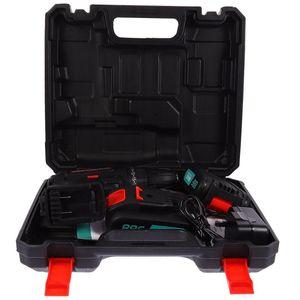 Professionelle elektrische Schraubendreher 1 Set 21V Schraubendreher Möbelpfleger (UK-Stecker)