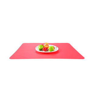40x30cm Silicone Mats Baking Liner Muiti-function Silicone Oven Mat Heat Insulation Anti-slip Pad Bakeware Kid Table Placemat GWD5328
