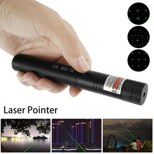 Flashlights Torches Green 532nm Pointer USB Rechargeable Effect Heads Meter Tactical
