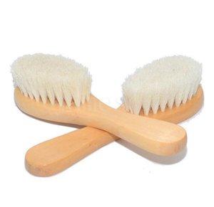 طفل حمام خشبي فرش الجسم دش تنظيف تدليك فرشاة الشعر مشط المنزلية إمدادات نظيفة الحمام DD121