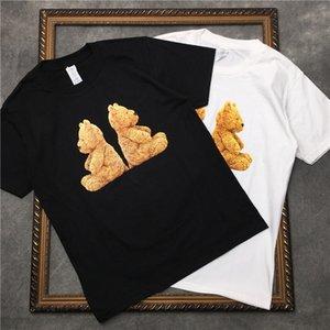 Erkek Tasarımcı T-Shirt Lüks Yeni Marka Tasarımcısı Kısa Kollu Moda Baskılı Rahat Açık Giysiler Tops 2020 Yaz Tee