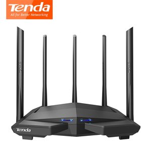 Tenda AC11 Gigabits Wireless Wifi Router AC1200 Dual-Band WIFI Repeater 5*6dBi High Gain Antennas Wider Coverage 210607