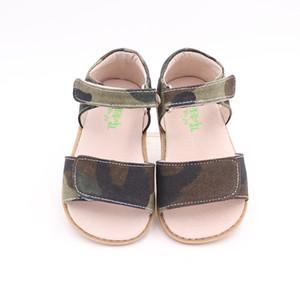 Tipsietoes Summer Kids Shoes Marca Cerrado Toe Toe Boys Sandals Barefoot 210226