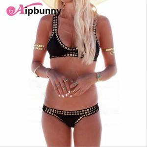 Atejifey Neopren Bikiniler Kalite Mayo Örme Suit Kadınlar Maillot De Bain Femme Mayo Mayo Tığ 2021