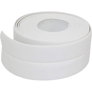3.2mx38mm Bathroom Shower Sink Bath Sealing Strip Tape White PVC Self Adhesive Wall Stickers Waterproof Wall Sticker for Kitchen 56 S2