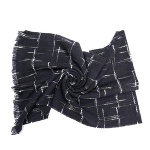 2021 New women's autumn winter tassels Thick Warm Shawls fashion leisure well striped 180 cm scarf