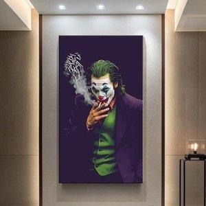 Filme clássico Pôsteres The Joker Poster DC Comics Wall Art Canvas Impressões Joaquin Pintura Pintura de parede para sala de estar Decoração de casa