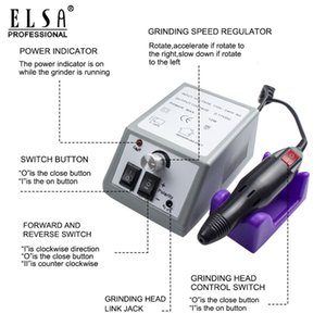 Manikür Nail Art Feecy için Matkap ve Pedikür Freze Makinesi Elektrikli Değirmen