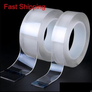 Magic Nano Tape Tensile Removable Waterproof Glue Metal Double Sided Tape Insulation Repair Strong Adsorption Home Daily Clear Tapes Z Th4Re