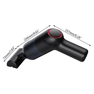 Gadgets USB Rechargeable Cordless Vacuum Cleaner For Cleaning Dust Car Home Office R9CB